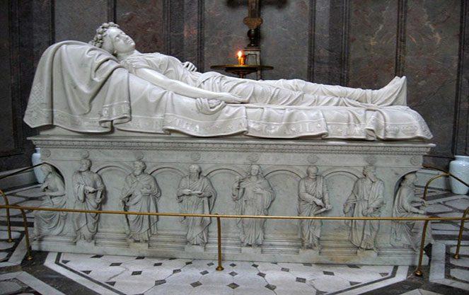 Останки Святої Єлизавети у Вісбадені