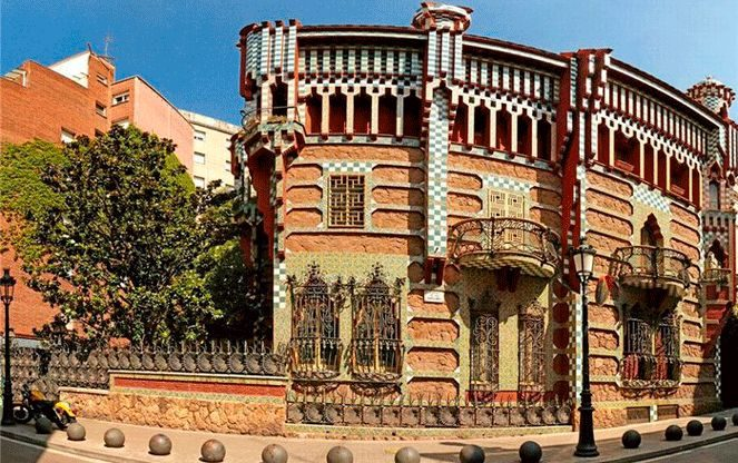 Будинок Вісенс - творіння Гауді