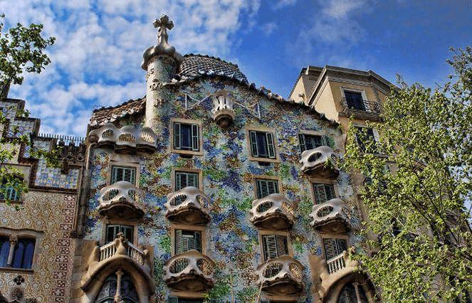Творчість Гауді в Барселоні