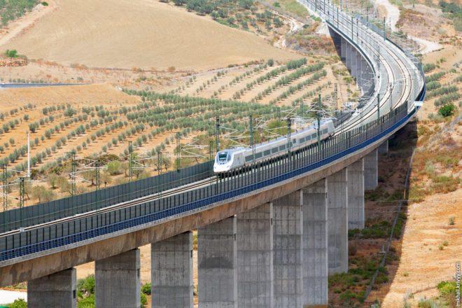 Залізниці в Іспанії