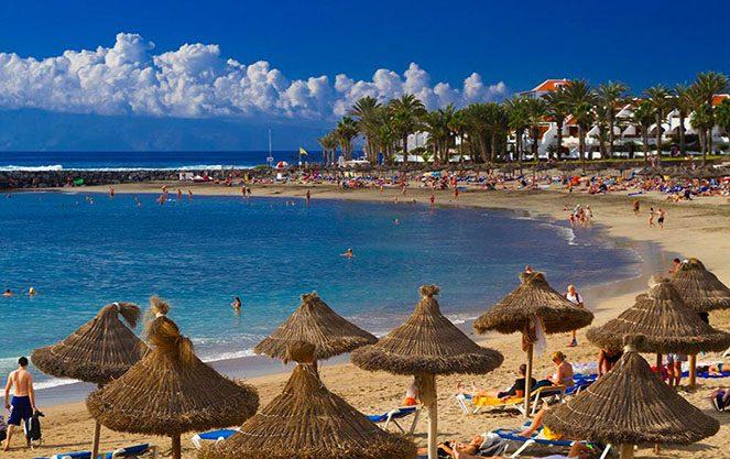 Пляж в Іспанії