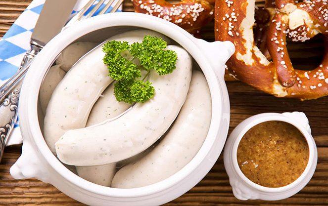 Біла ковбаса баварська