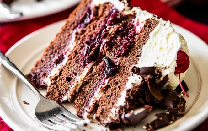 Торт чорний ліс