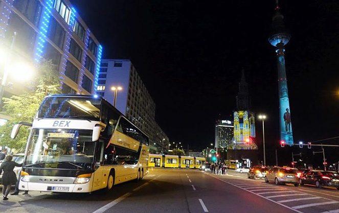 Транспорт під час фестивалю у Берліні