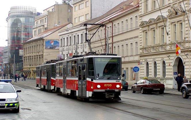 Громадський транспорт у Чехії