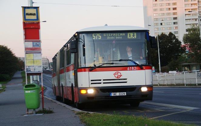 Автобуси в чеській республіці