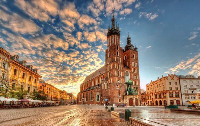 Погода в Польщі
