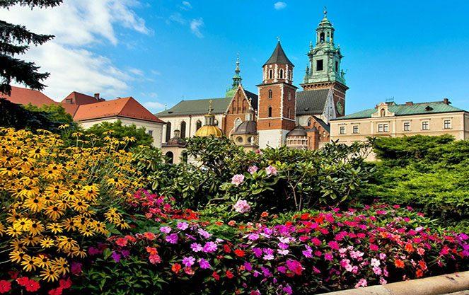 Погода в Польщі навесні