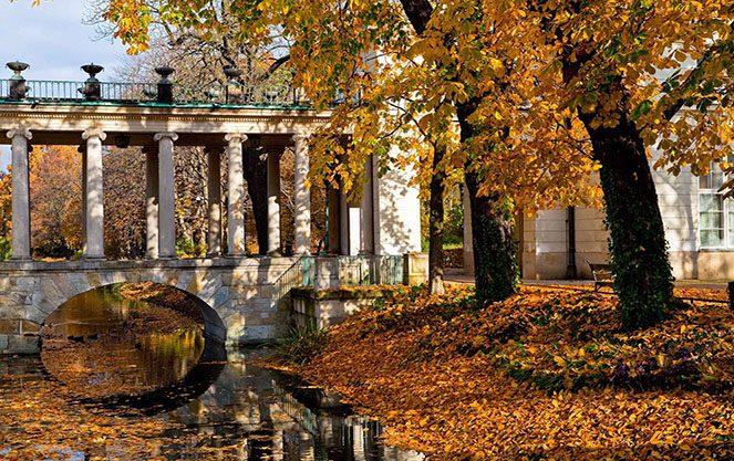 Погода в Польщі восени