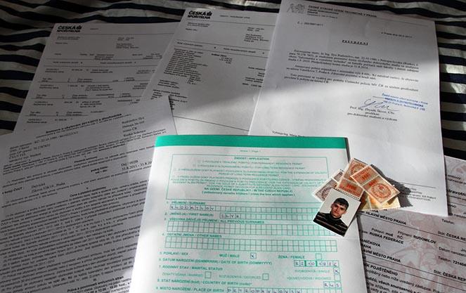 Продовження студентської візи в Чехію