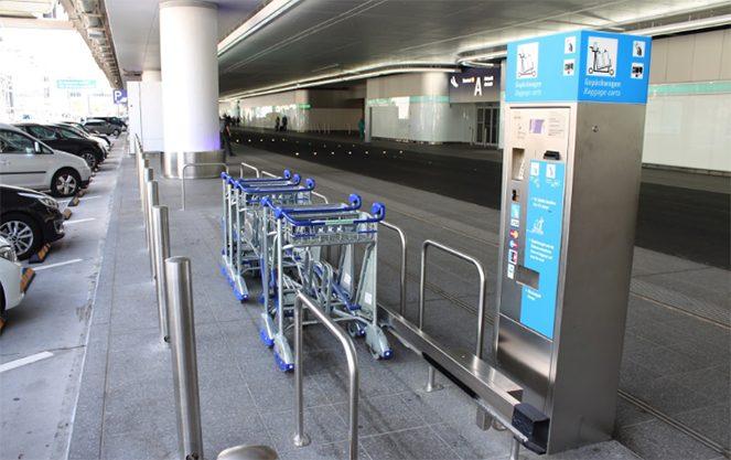 Візки для перевезення багажу
