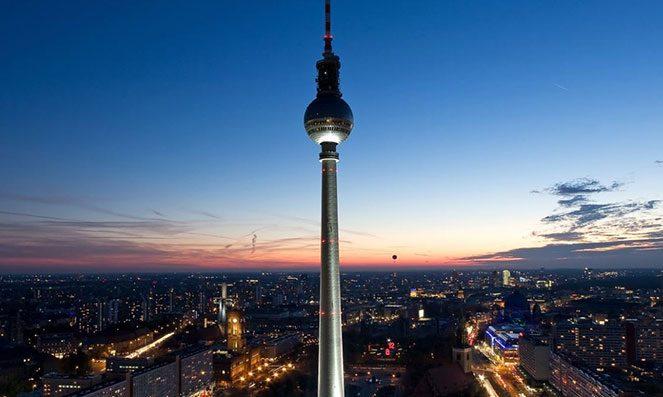 Телевізійна башта у Берліні