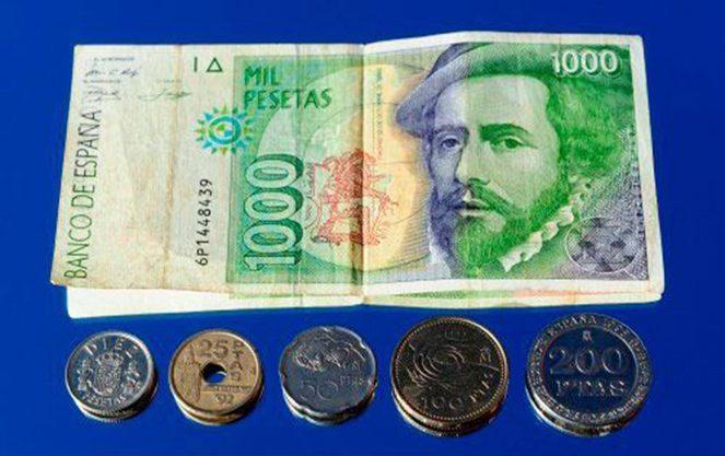 Іспанські валюти минулого