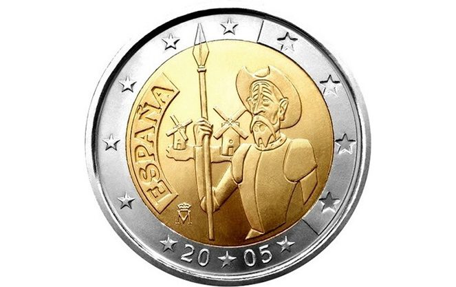 Пам'ятні й особливі іспанські монети