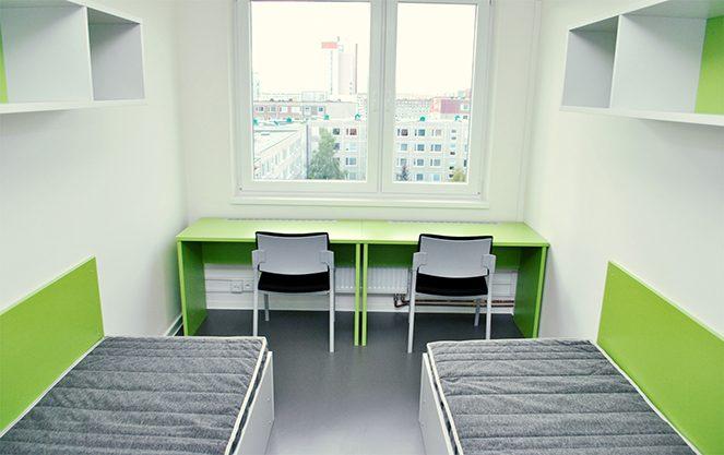 Проживання студентів у Чехії
