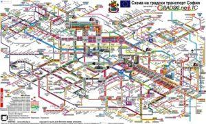 Міські транспортні схеми