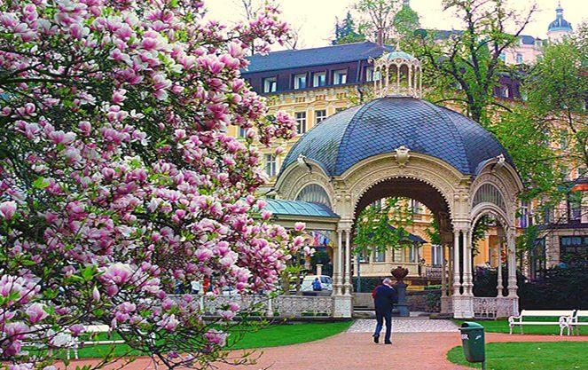 Весна в Карлових варах