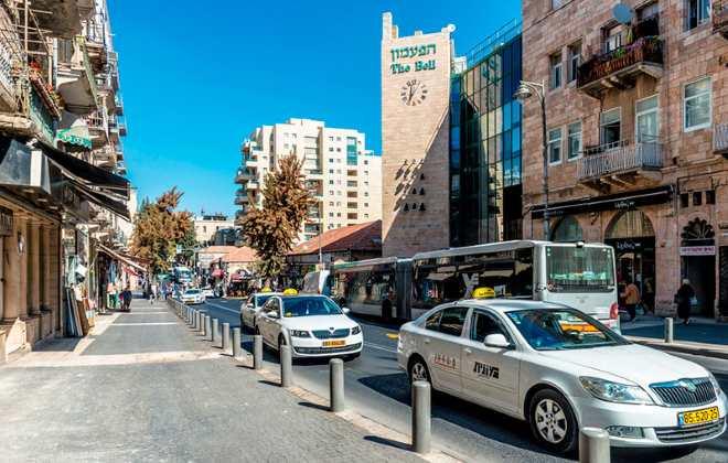 російськомовне таксі в Тель-Авіві