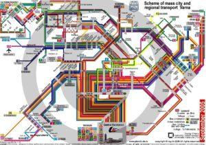 Схема метро Софії