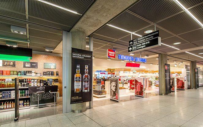 Аеропорт Штутгарта всередині