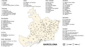 Адмін поділ Барселони