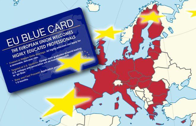 Що таке Blue card в Європі