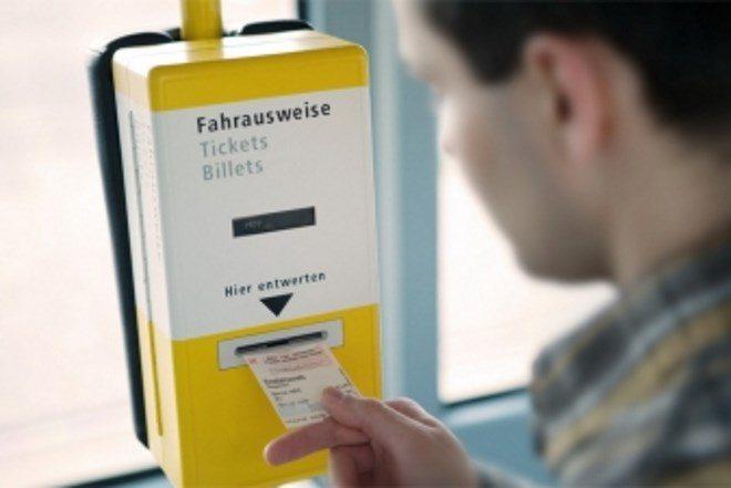 Купівля квитків на транспорт Німеччини