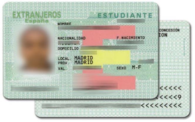 Картка іноземного студента