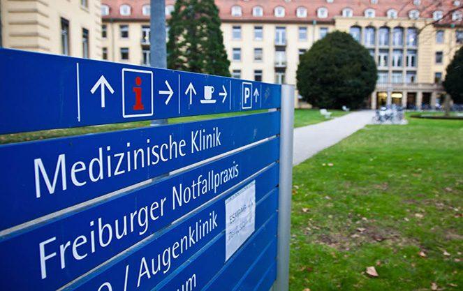 Структура університетської клініки Фрайбурга