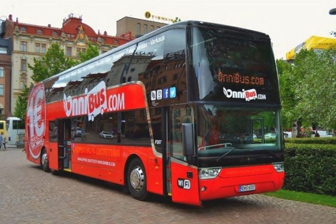 Автобуси в Фінляндії