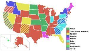 Які мови існують на території США