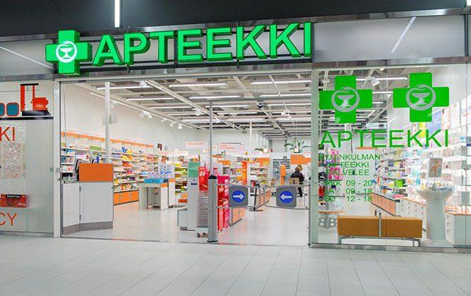 Аптеки у Фінляндії