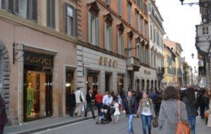 Головна торгова вулиця Риму