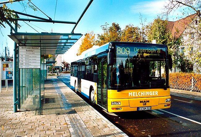 Громадський транспорт Німеччини