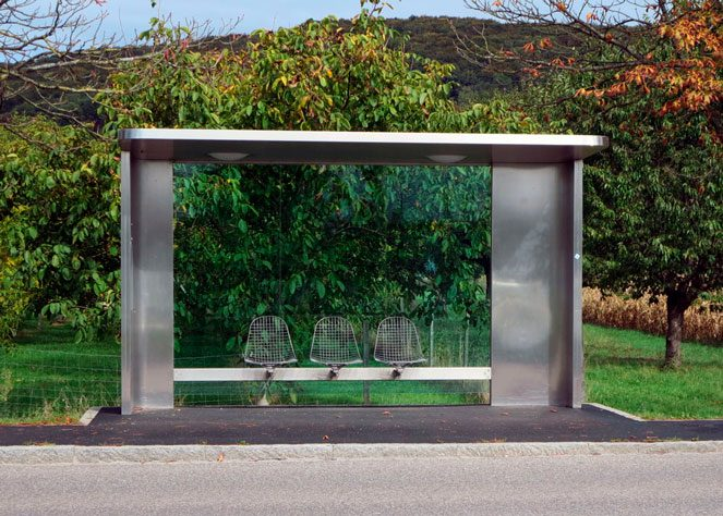 Автобусна зупинка в Німеччині