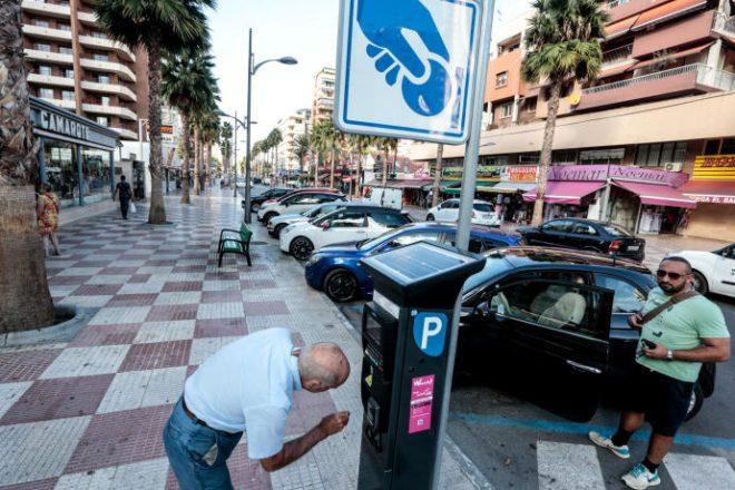 Паркомат Іспанії