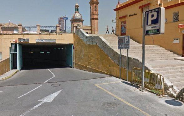 Підземний паркінг в Іспанії