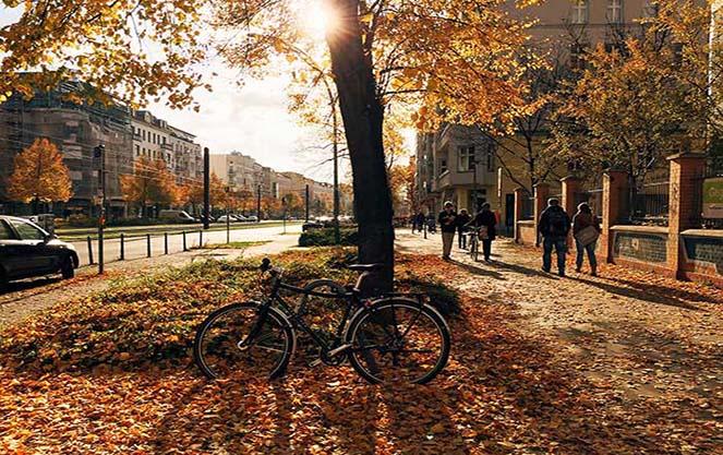 Погода в берліні восени