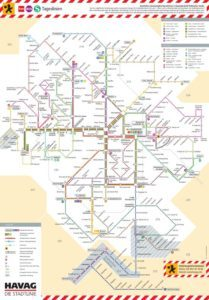 Схема рух транспорту в Німеччині