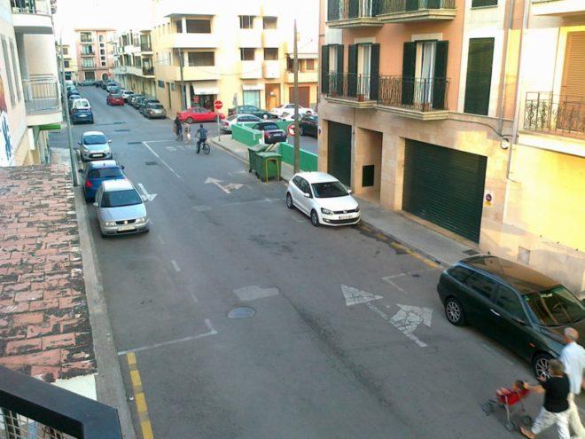 Розмітка паркування в Іспанії