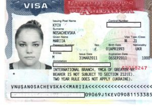 тип візи J-1 Exchange Visitor Visa