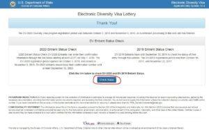 перевірити результати лотереї грін-карт