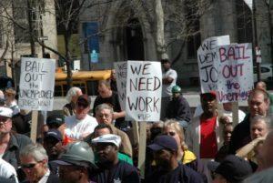 Безробіття в Україні та США