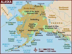 Географічні умови і клімат на Алясці