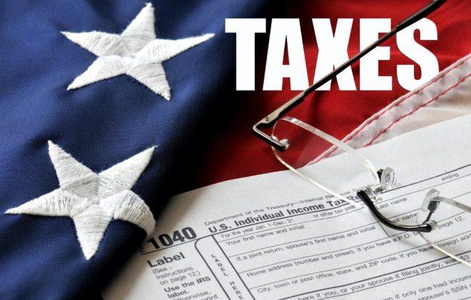 Податки та податкова система США