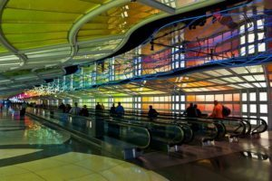 аеропорт о'хара в Чикаго