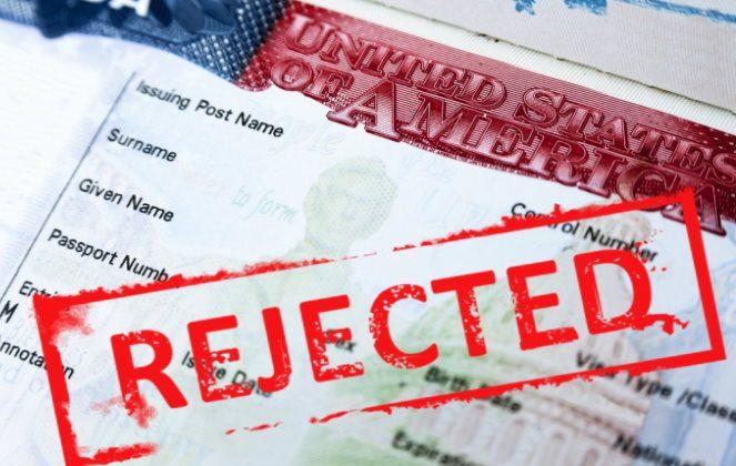 відмова у візі США
