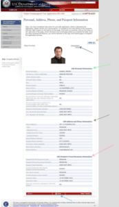 заповнення електронної візової анкети DS-160 крок 21