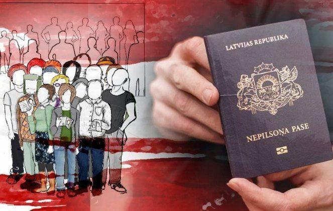Негромадяни Латвії