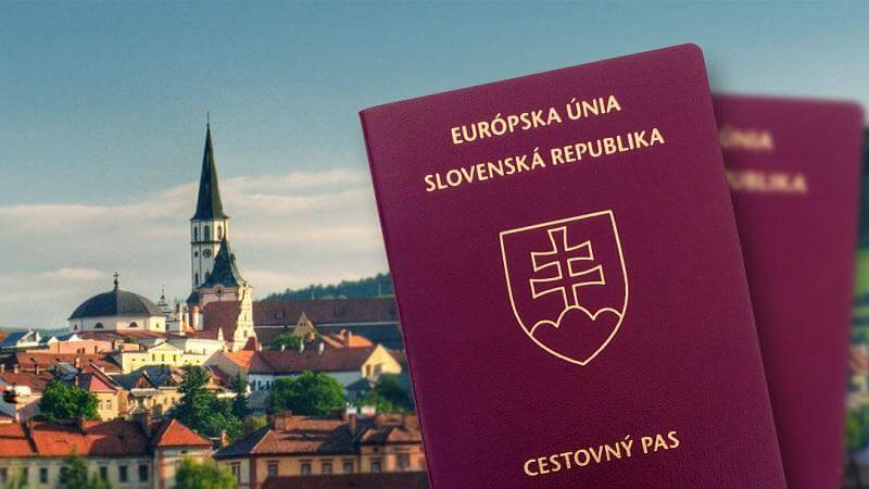 Паспорт Словаччини